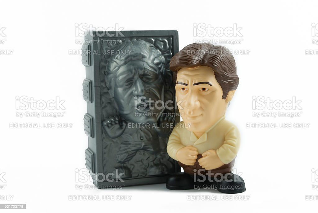 Han Solo From Star Wars stock photo
