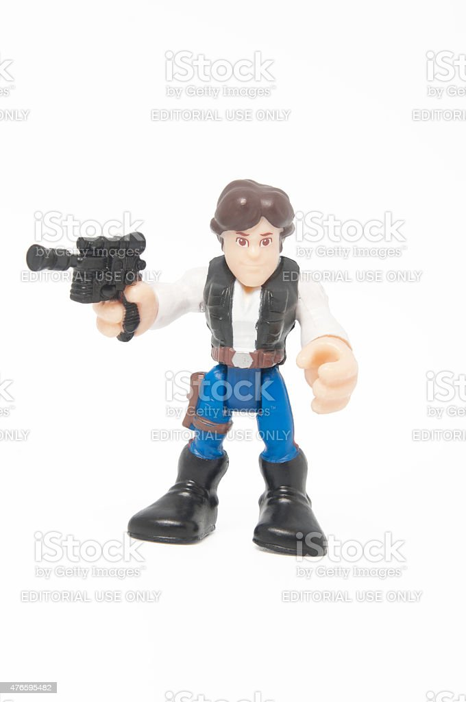 Han Solo Figurine stock photo