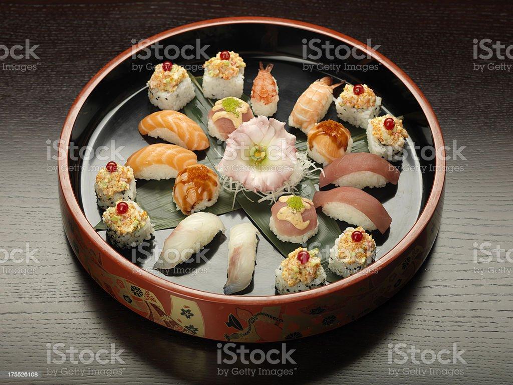 hana sushi stock photo