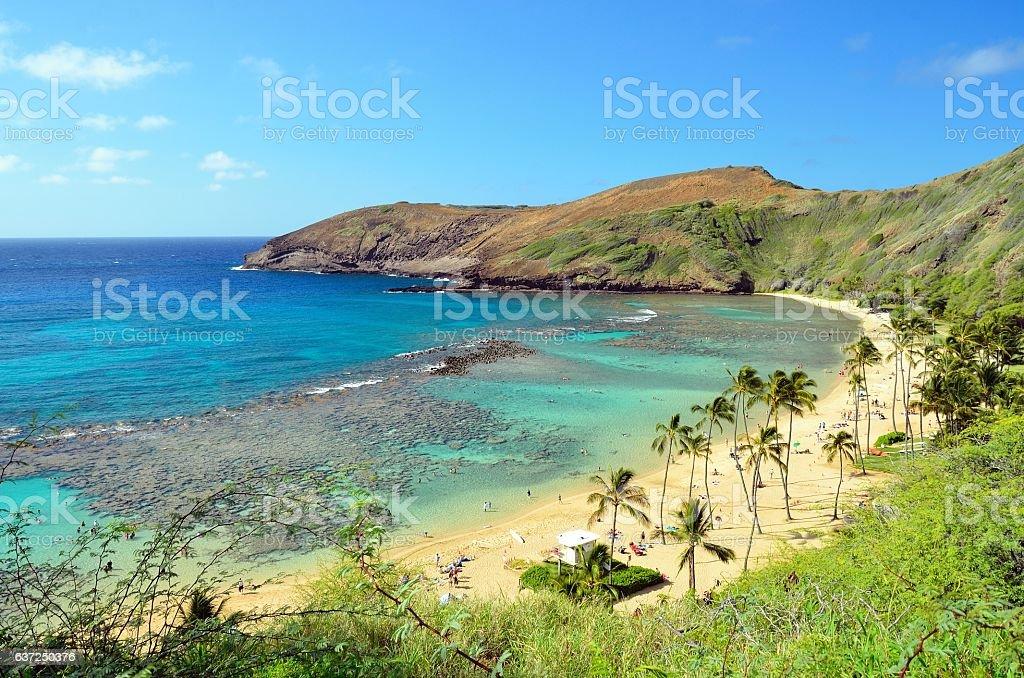 Hanauma Bay, Oahu, Hawaii stock photo