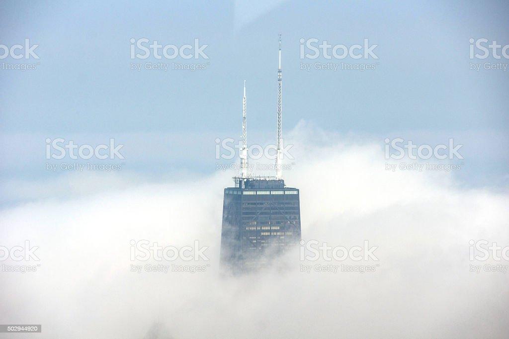 Hancock Tower stock photo
