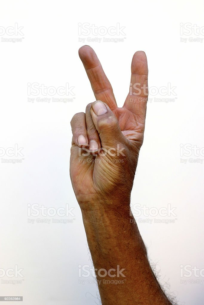 Hand 14 royalty-free stock photo