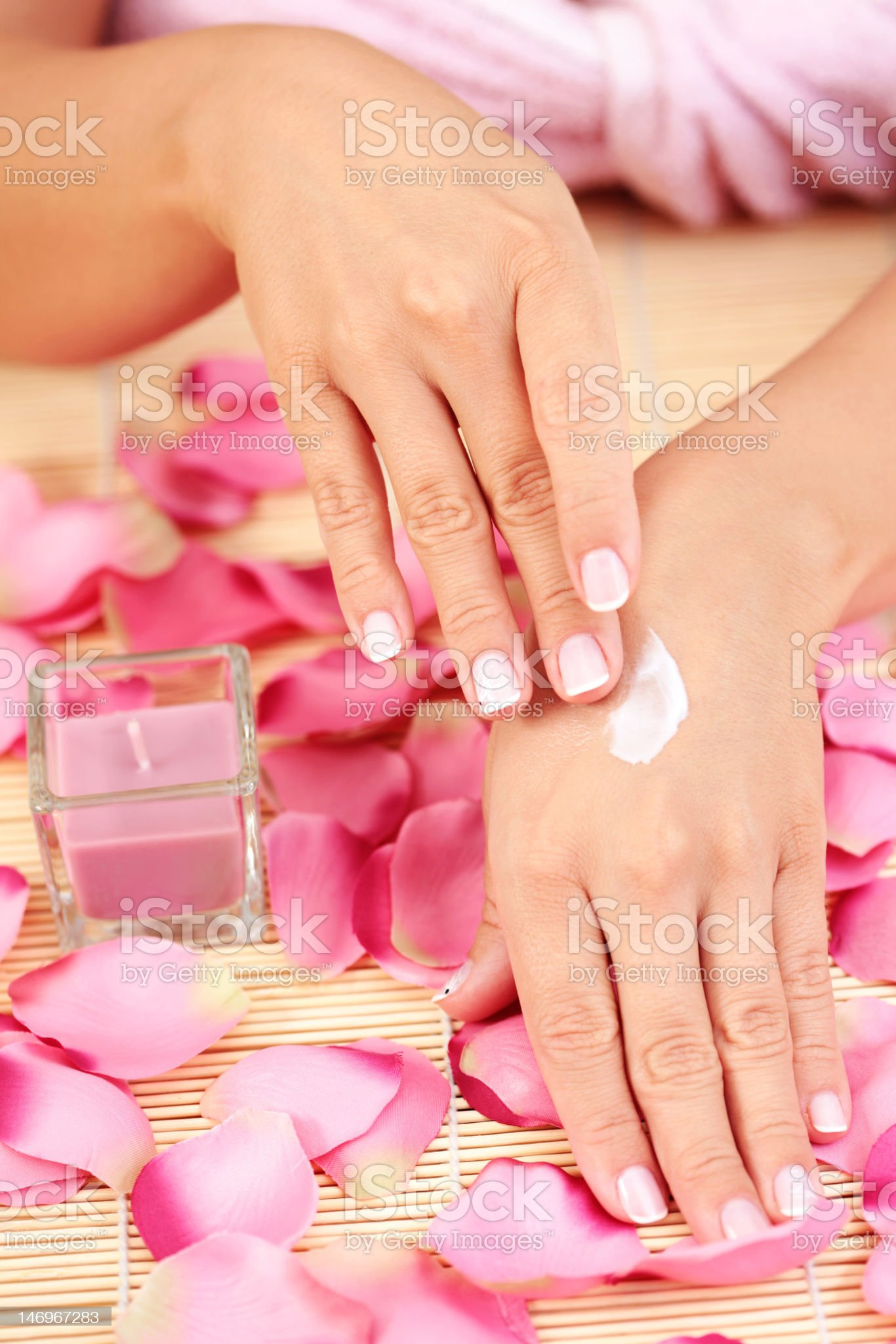 hand care royalty-free stock photo