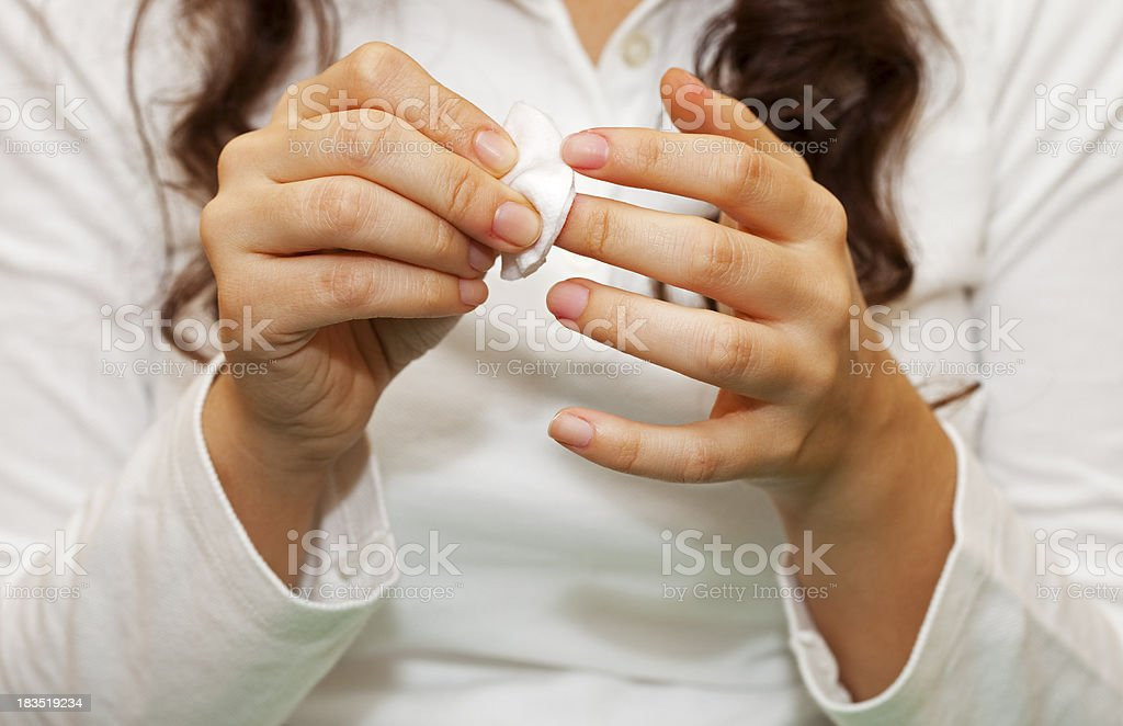 Hand Care stock photo