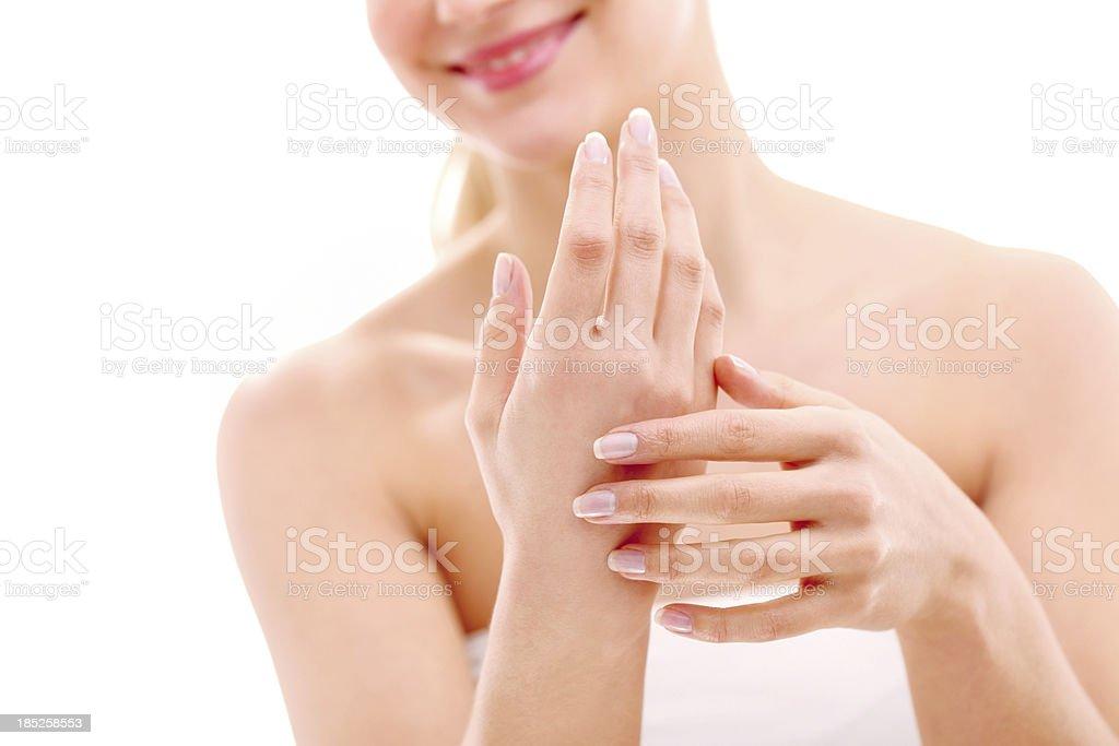 Hand Care stock photo
