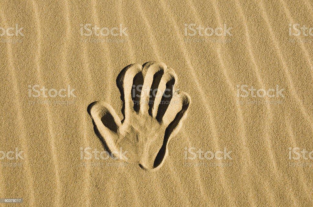 Рисованной в песке Стоковые фото Стоковая фотография