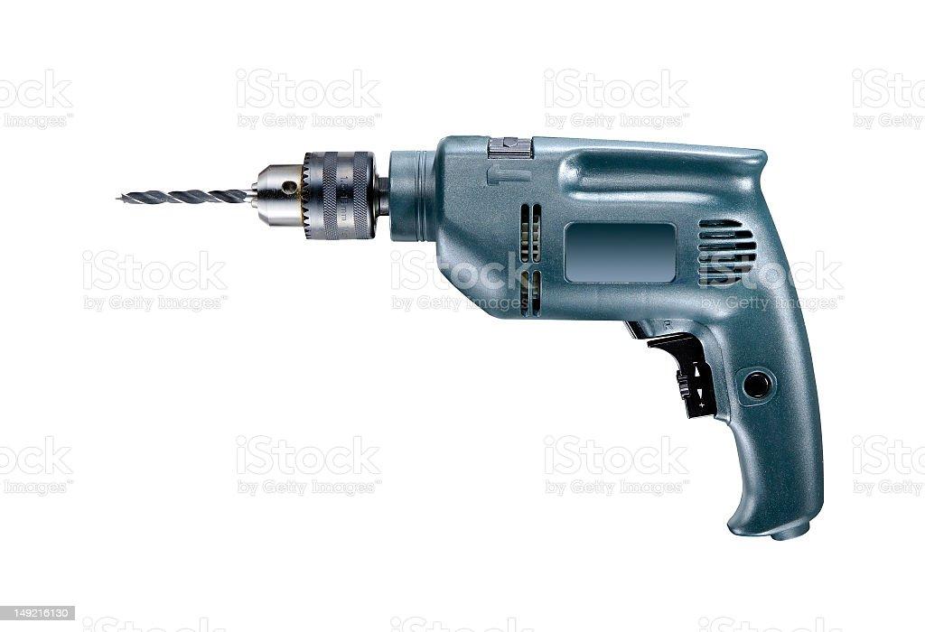 Hand drill royalty-free stock photo