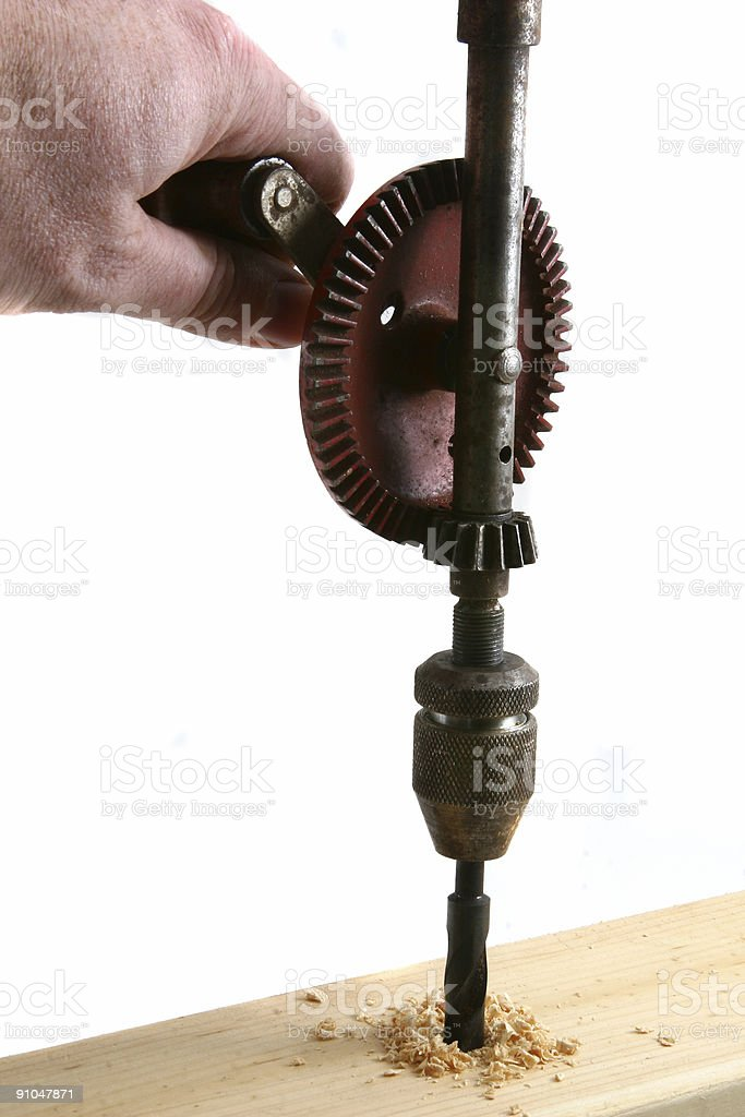 hand drill royalty-free stock photo