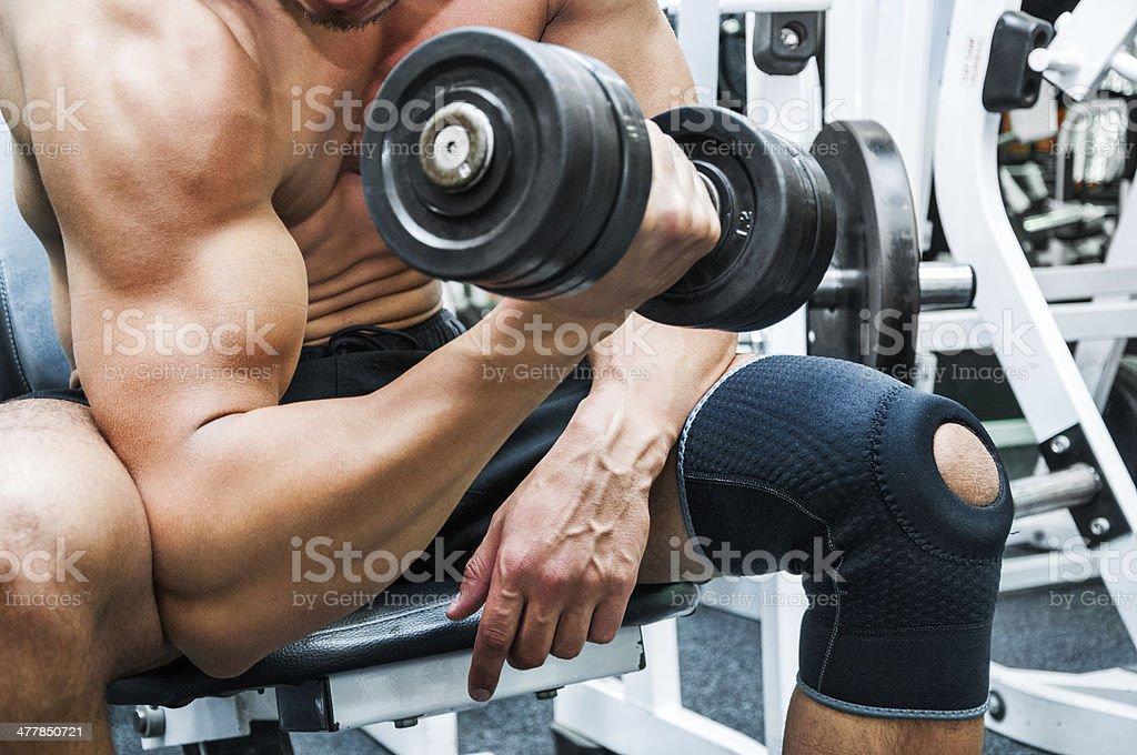Hand exercise stock photo