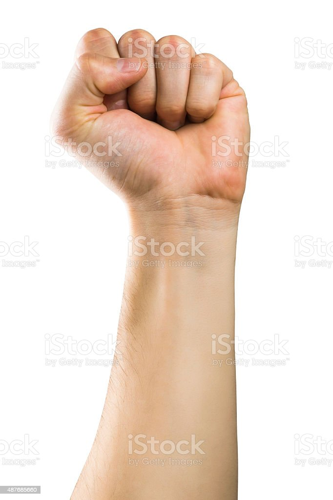Hand Fist stock photo