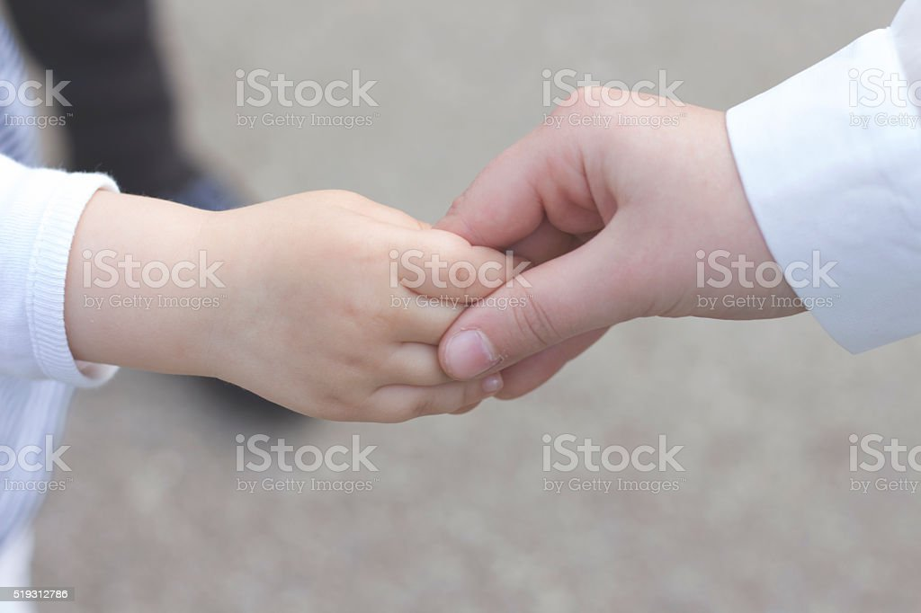 Hand for hand stock photo