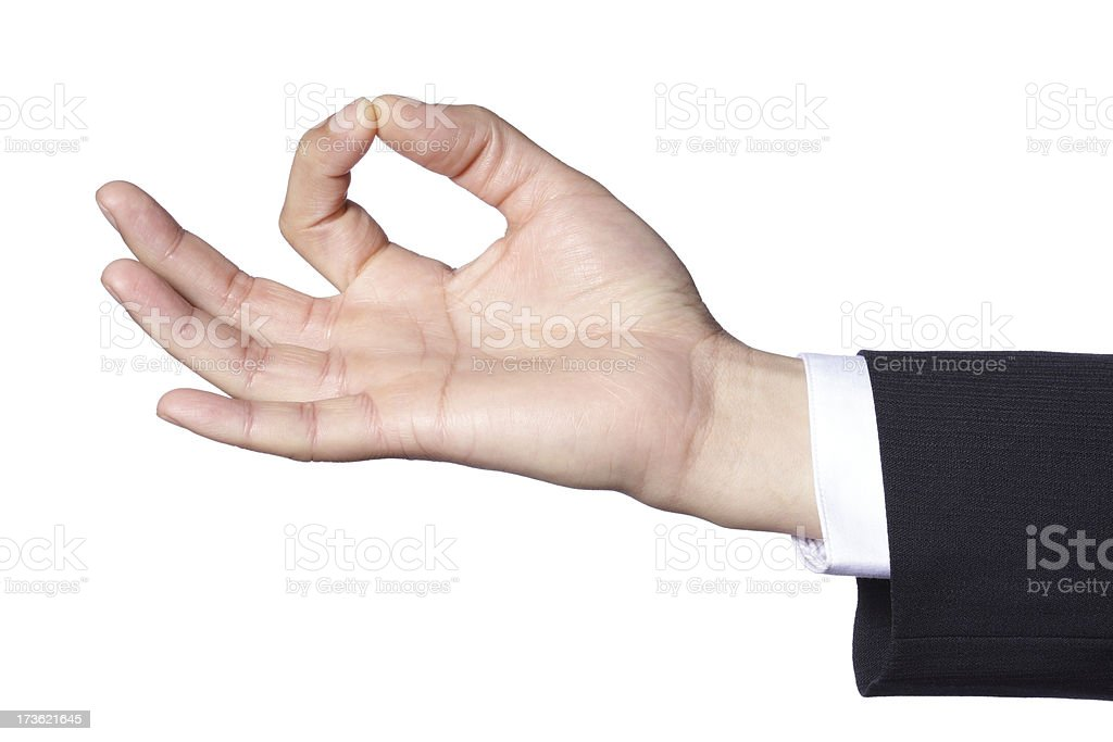 Hand Gesture - Yoga royalty-free stock photo