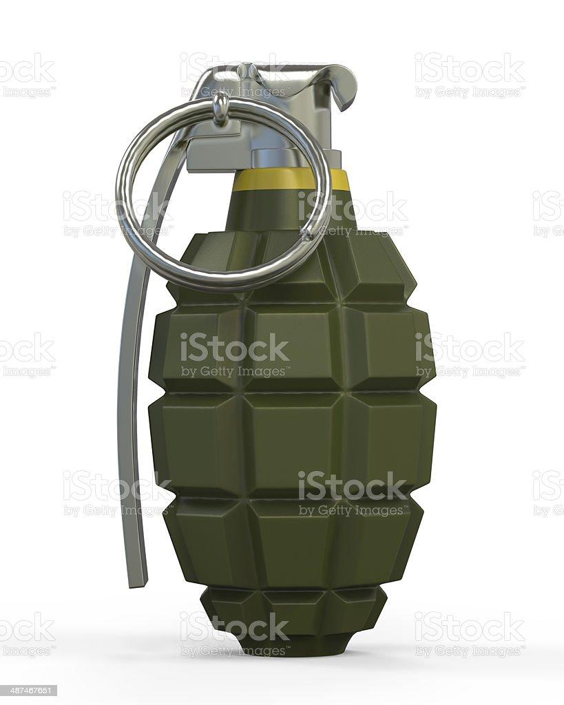Hand Grenade Isolated stock photo