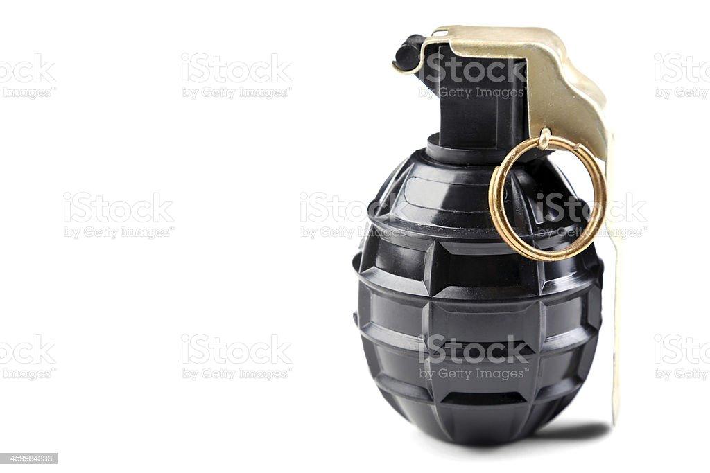 Hand grenade M75 royalty-free stock photo