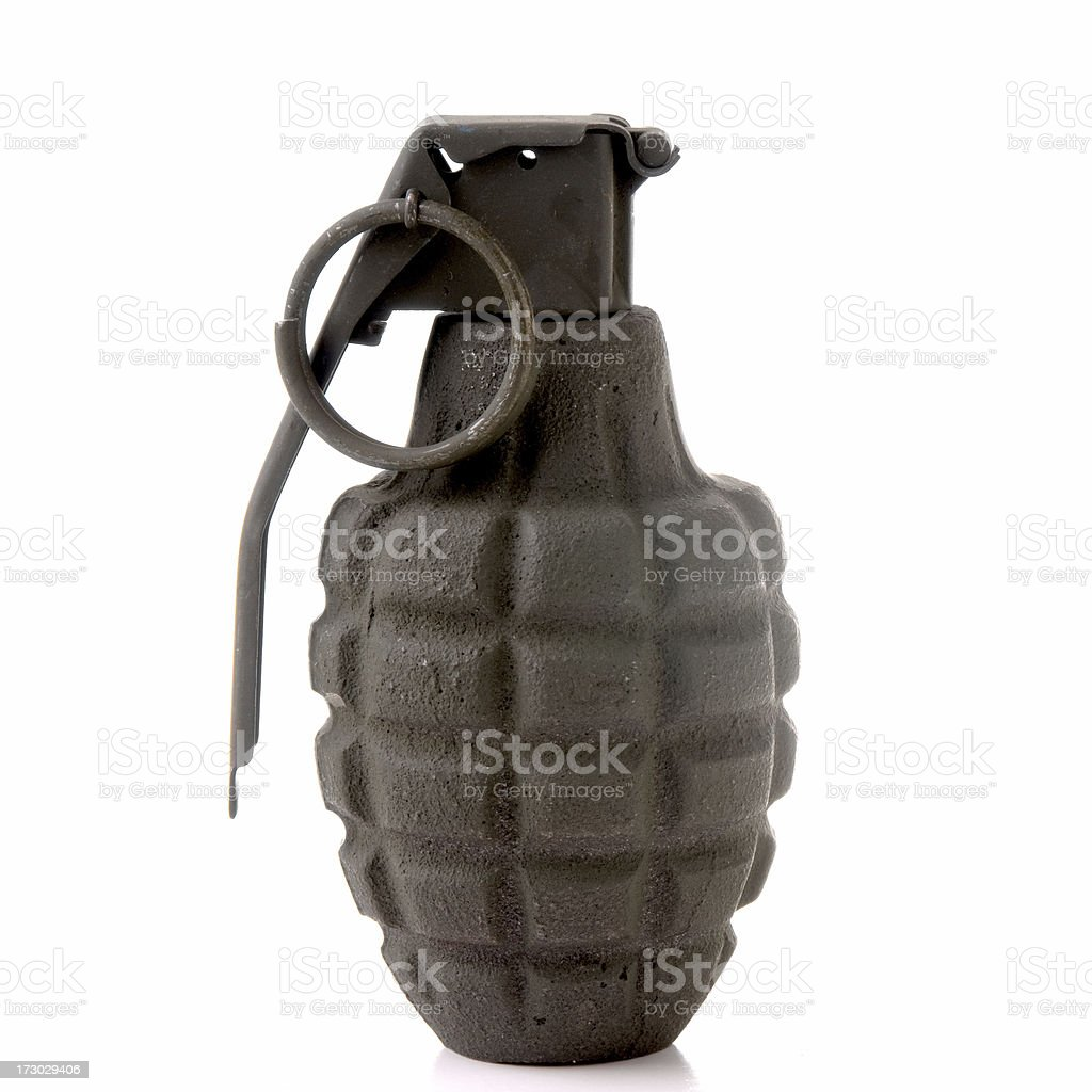 Hand Grenade Series royalty-free stock photo