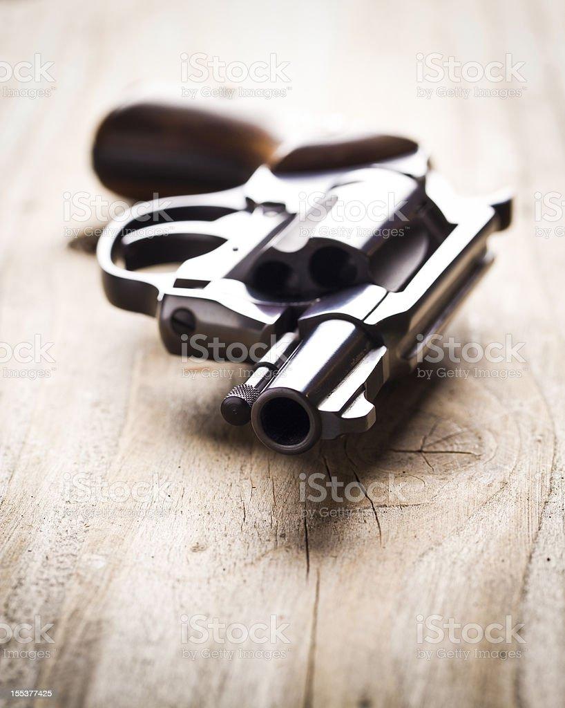 Hand Gun stock photo