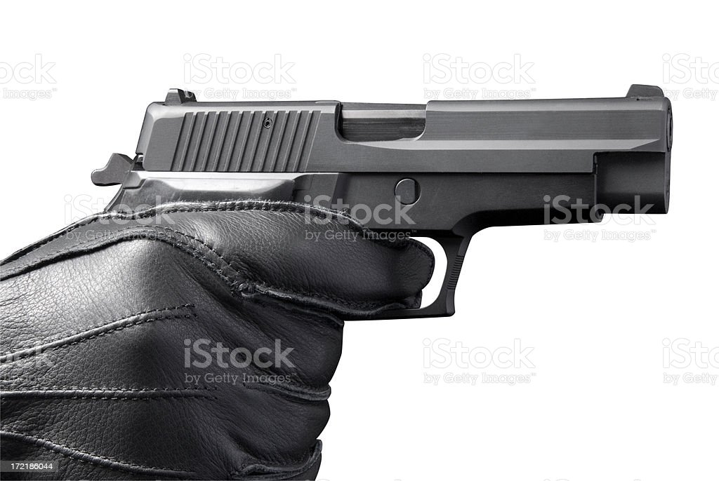 Hand Gun royalty-free stock photo