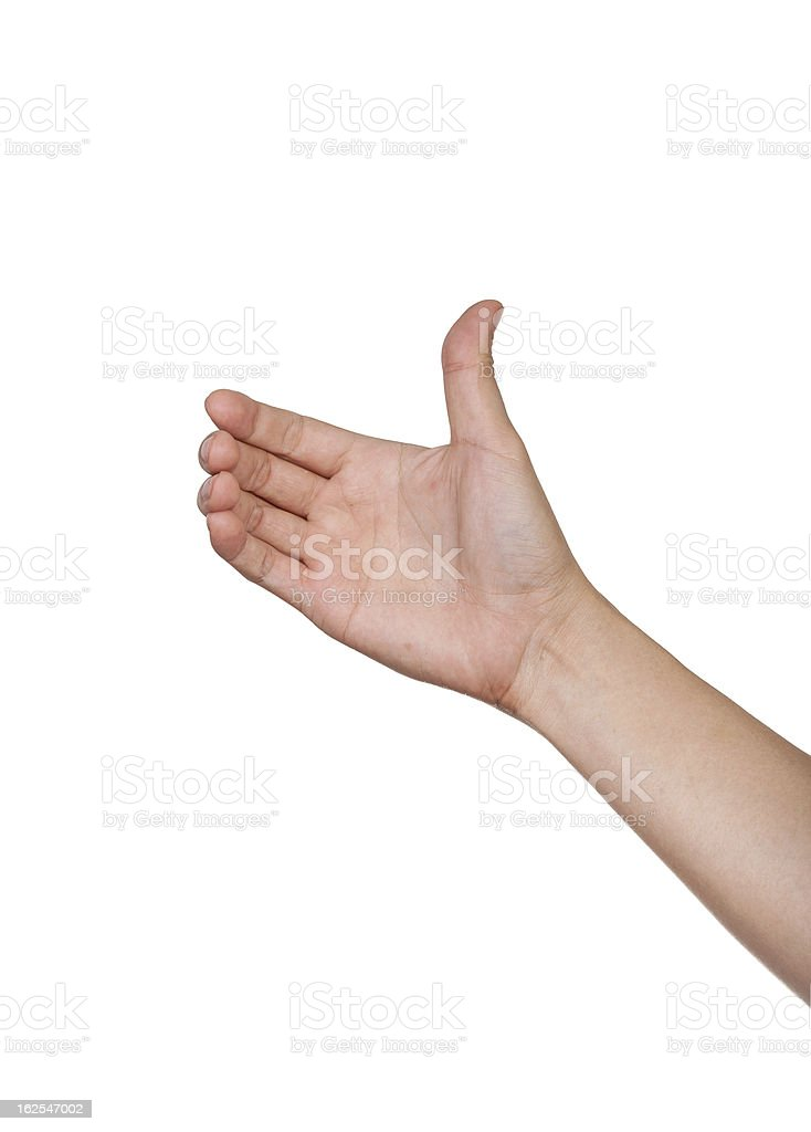 hand hold card, mobile phone, tablet stock photo