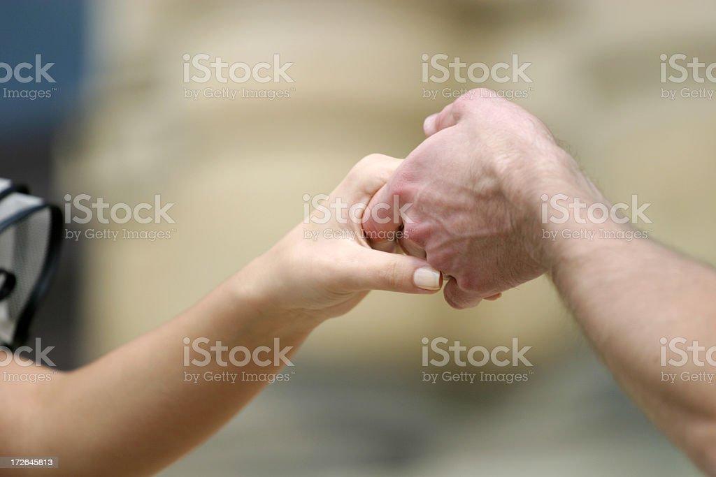 Hand holding royalty-free stock photo