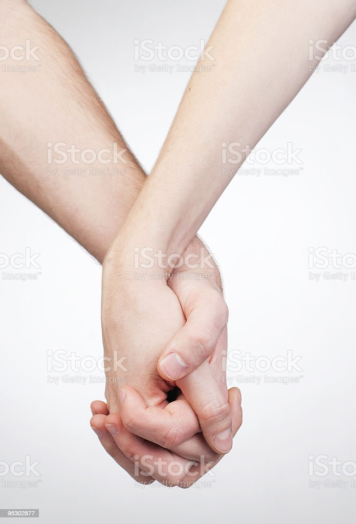 Hand holding royalty-free stock photo