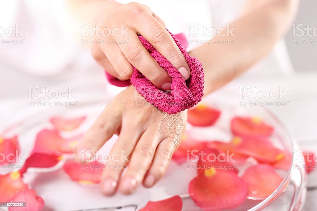 Hand hygiene stock photo