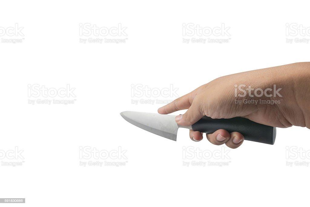 hand   knife stock photo