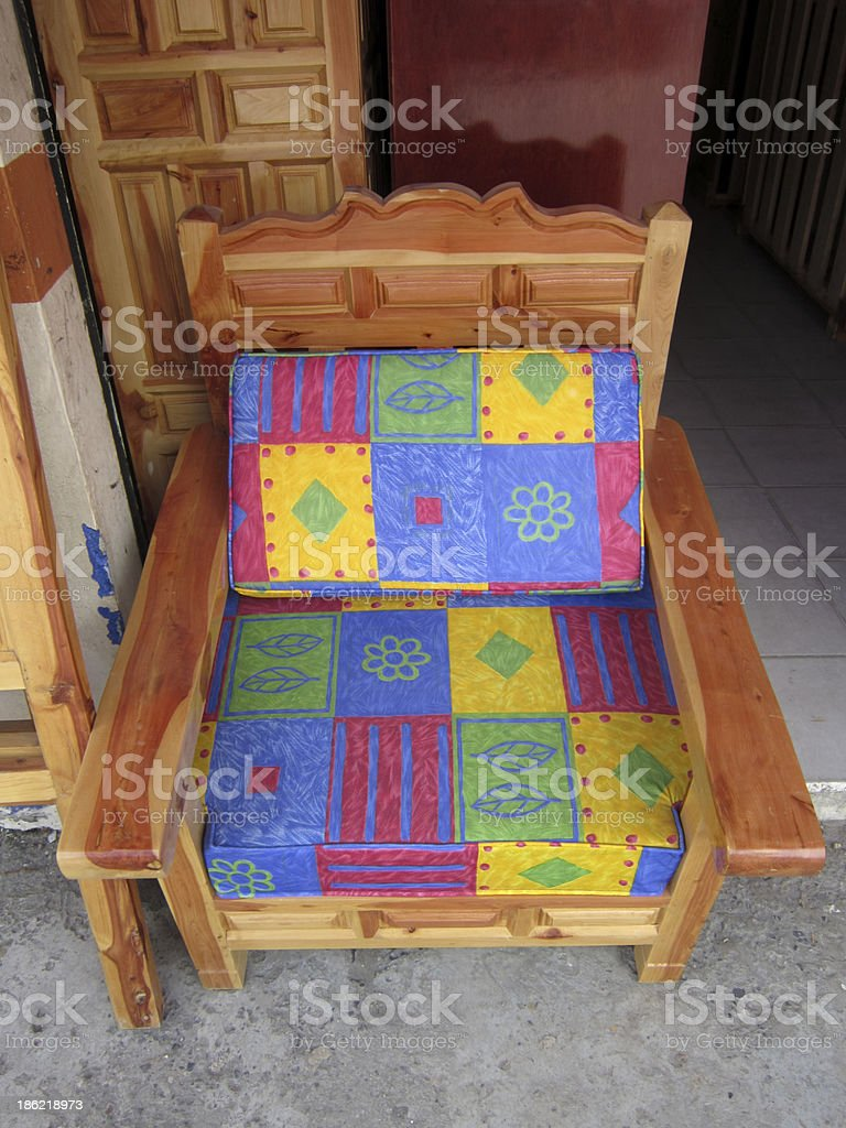 Hand Made Chair stock photo