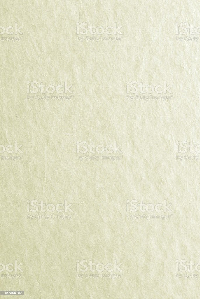Hand Made Japanese Paper stock photo