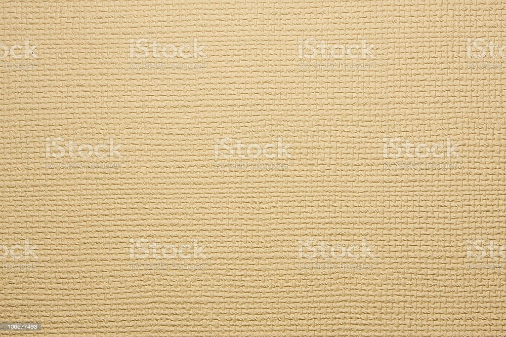 Hand Made paper with a jute type emboss Texture royalty-free stock photo