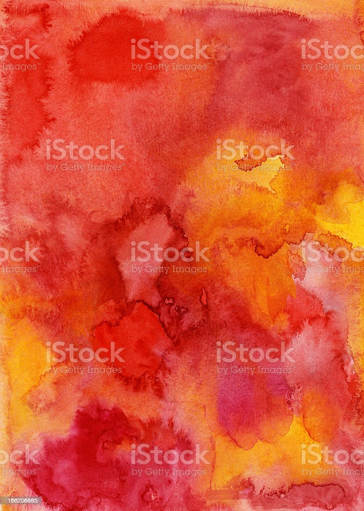 Hand made watercolor painting background. royalty-free stock photo