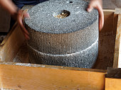 hand mill of stone