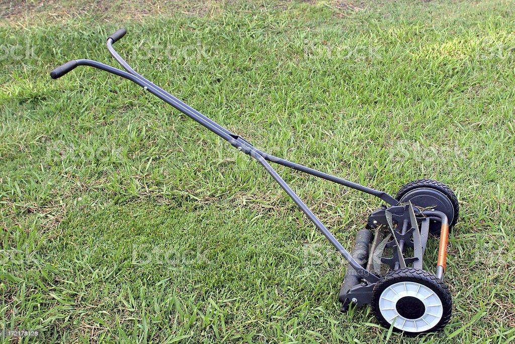 Hand Mower 1 royalty-free stock photo