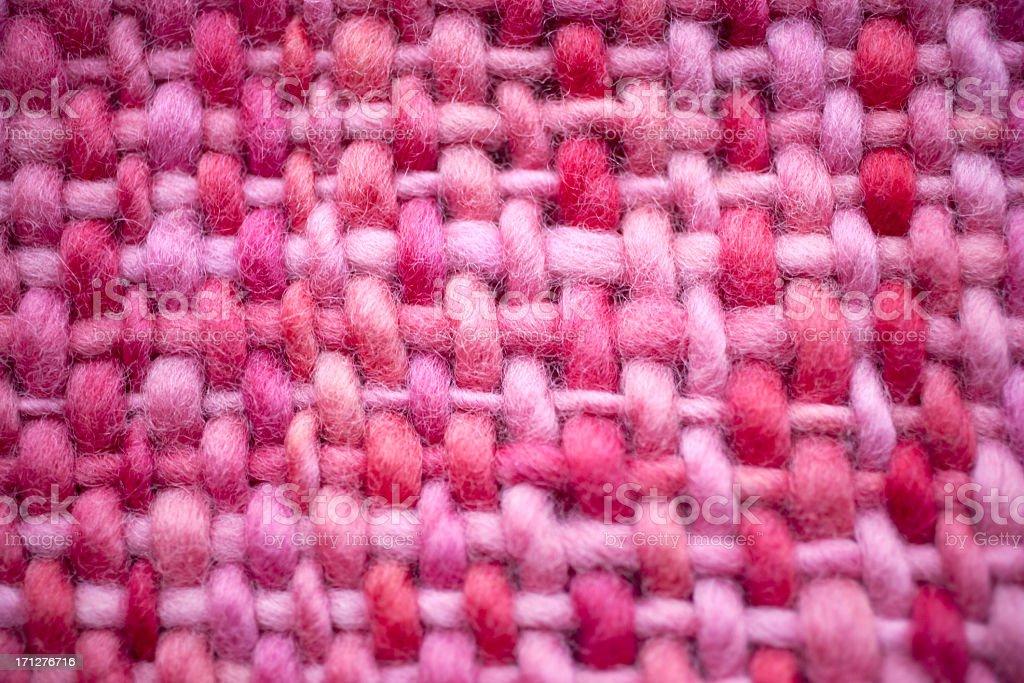 hand net wool macro stock photo