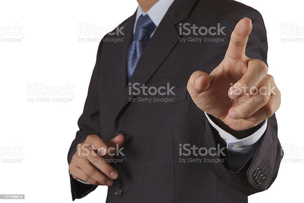 hand of business royalty-free stock photo