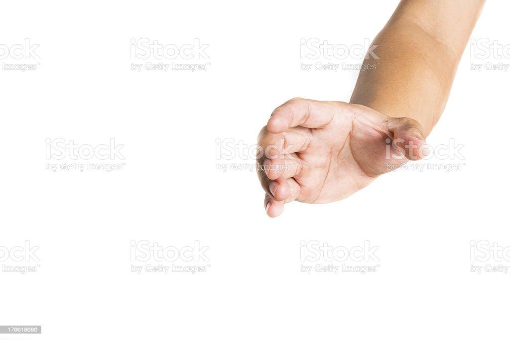 hand of man reaching stock photo