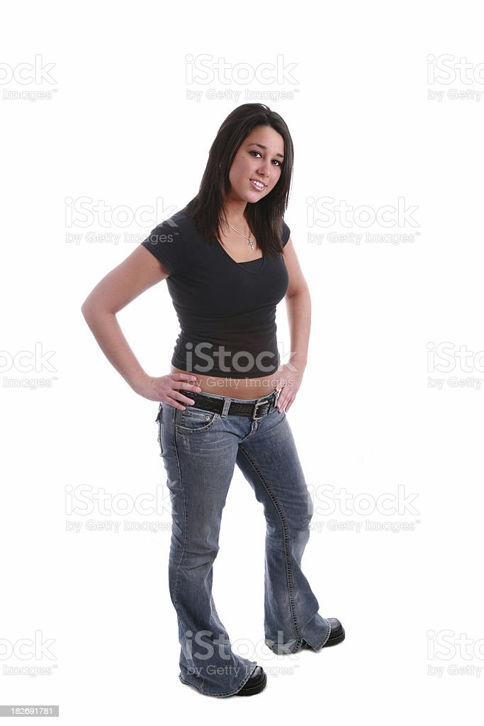 Hand On Hips royalty-free stock photo