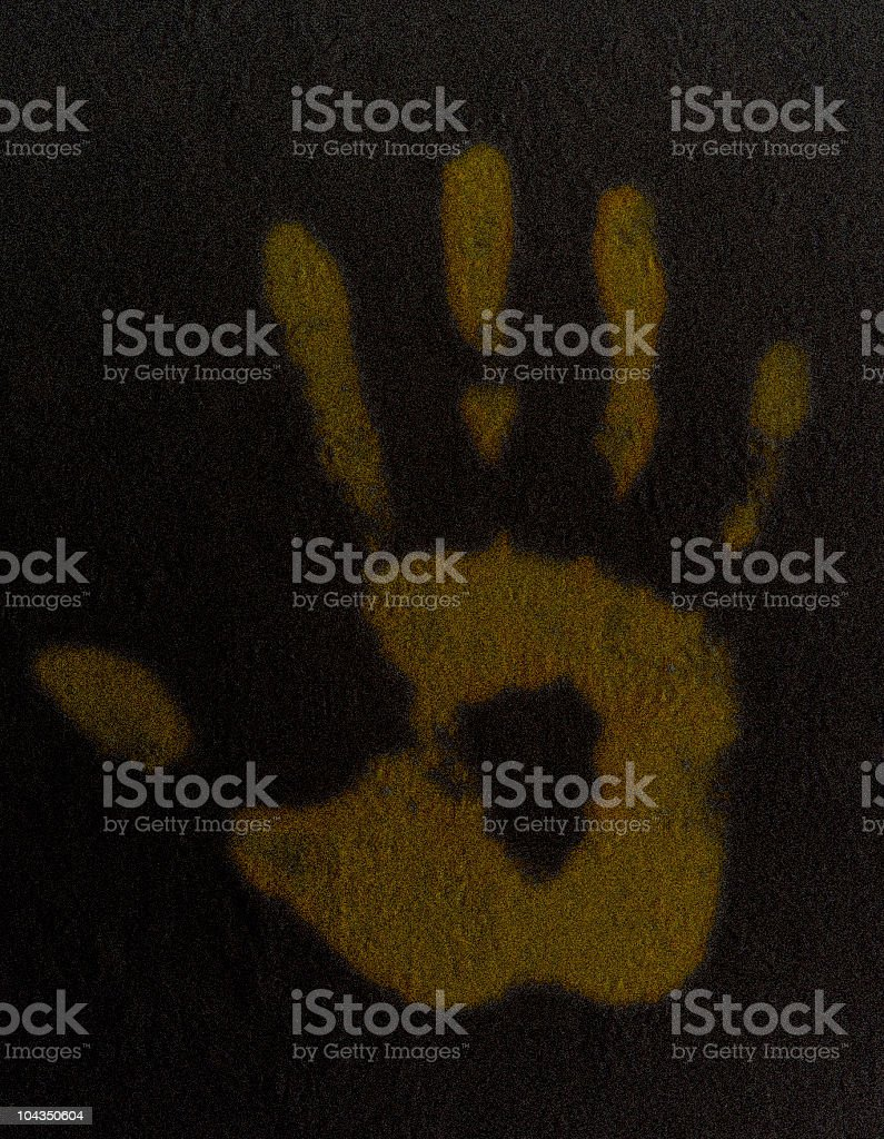 Hand Out royalty-free stock photo