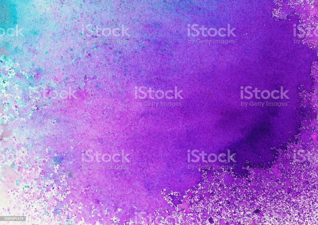 Hand painted abstract textured background with vibrant colors stock photo