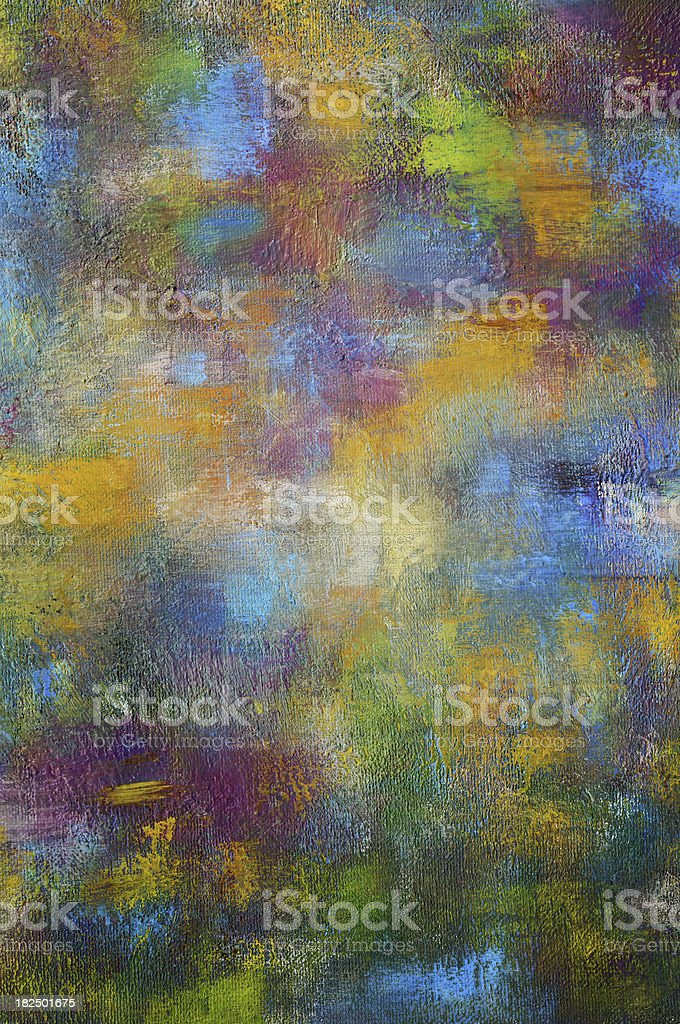 Hand Painted Colorful Background royalty-free stock photo