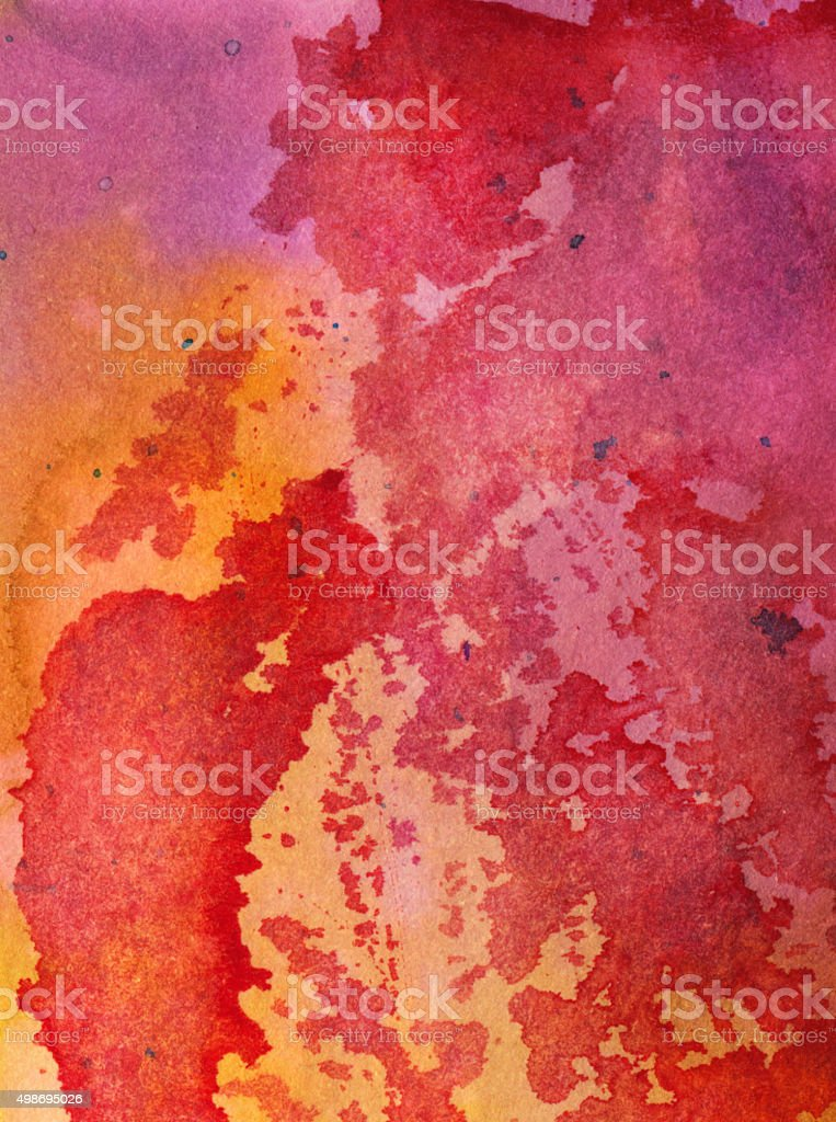 Hand painted distressed abstract texture background stock photo