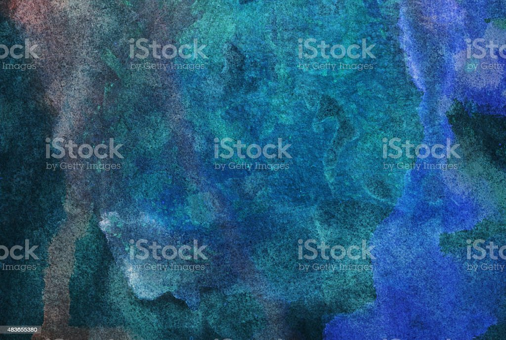 Hand painted textured background with multiple dark colors vector art illustration