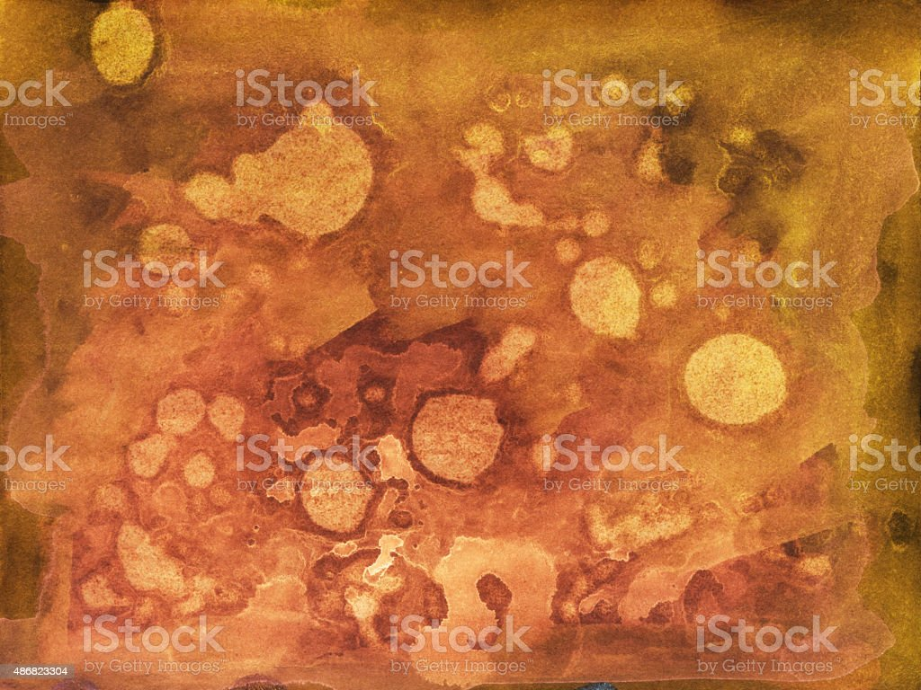 Hand painted textured background with shades of browns and reds vector art illustration