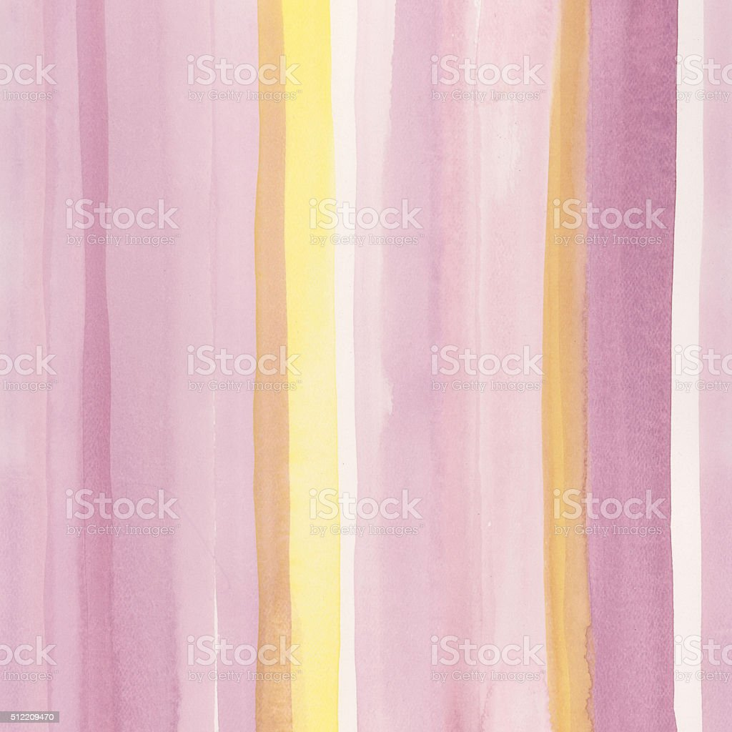Hand painted watercolor background, horizontally seamless. stock photo
