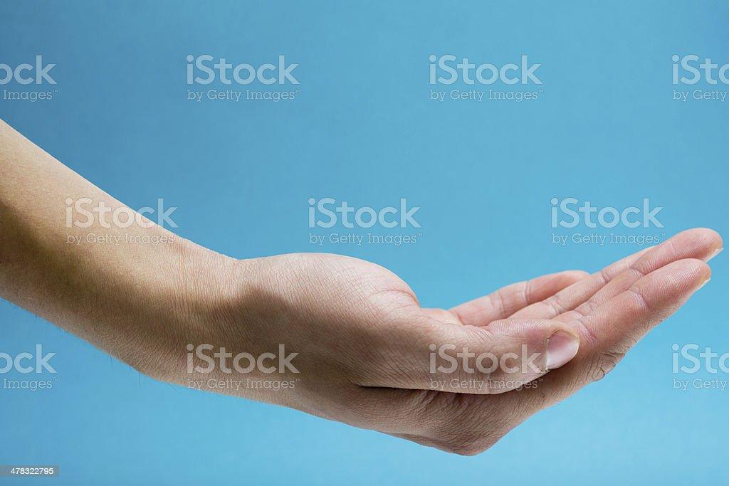hand royalty-free stock photo