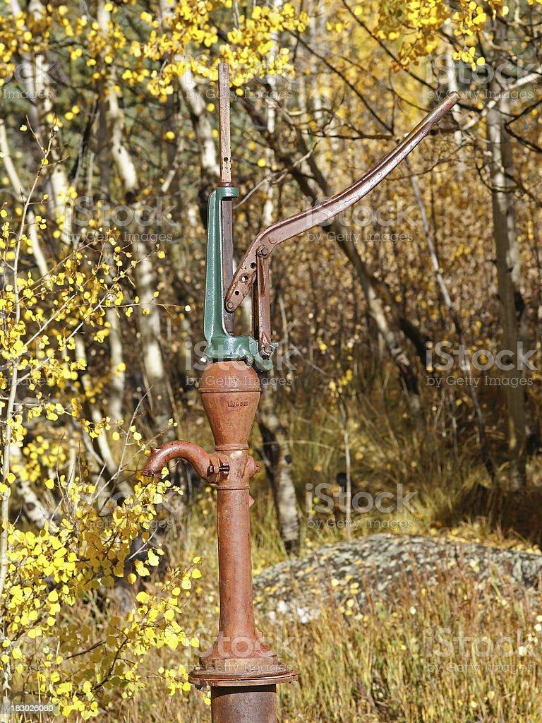 Hand Pump royalty-free stock photo