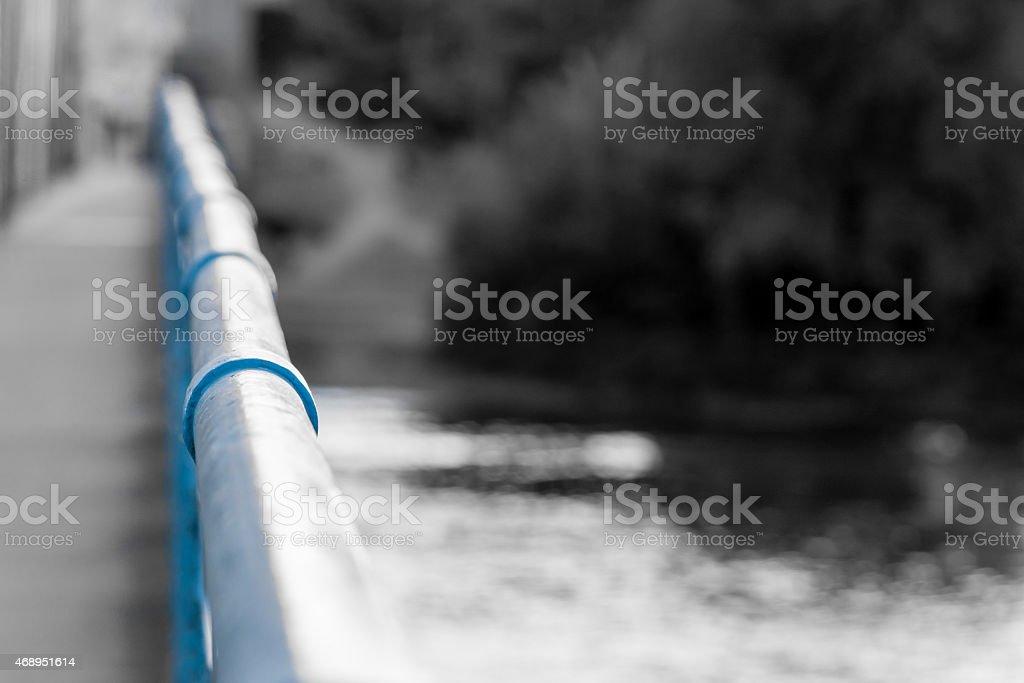 Hand Rail stock photo