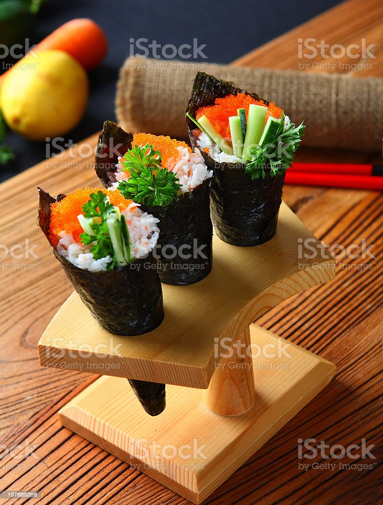 Hand Roll stock photo