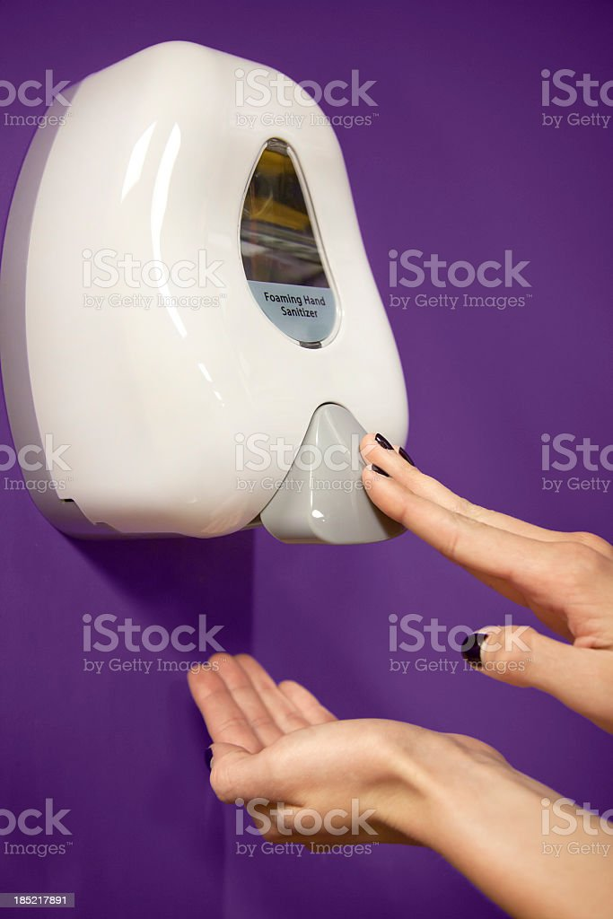 Hand Sanitizer royalty-free stock photo