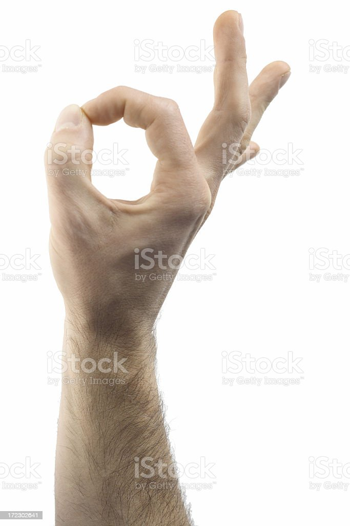 Hand series stock photo