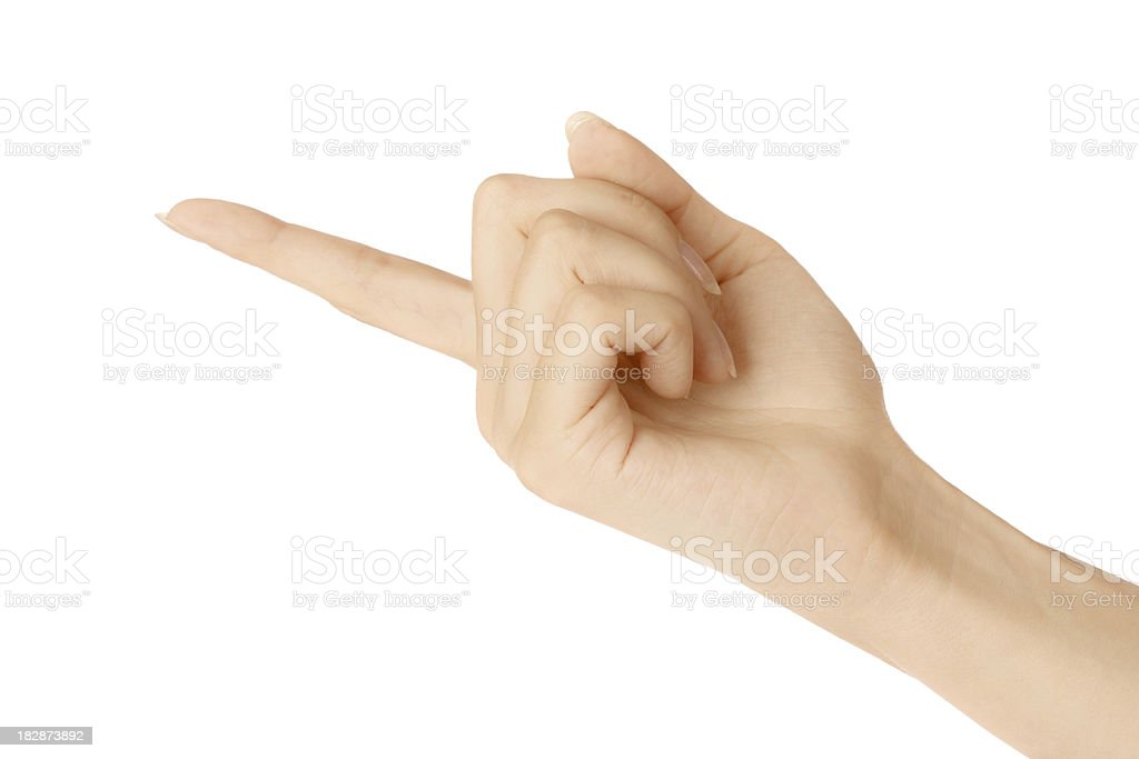 hand sign stock photo